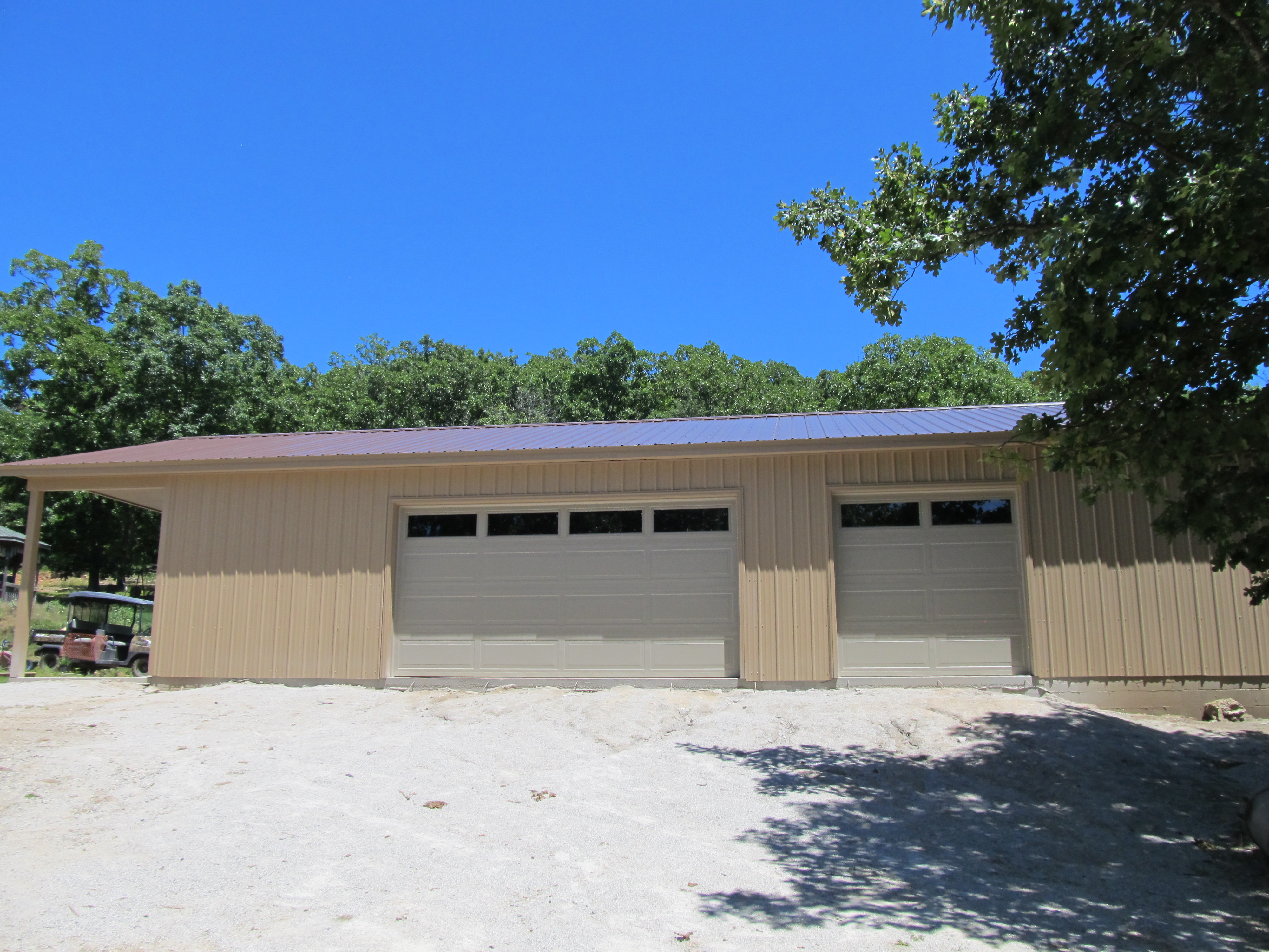 Garage Completed 1